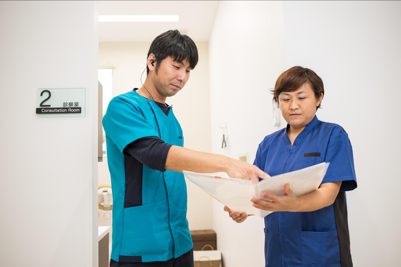 歯科医師・歯科衛生士の連携